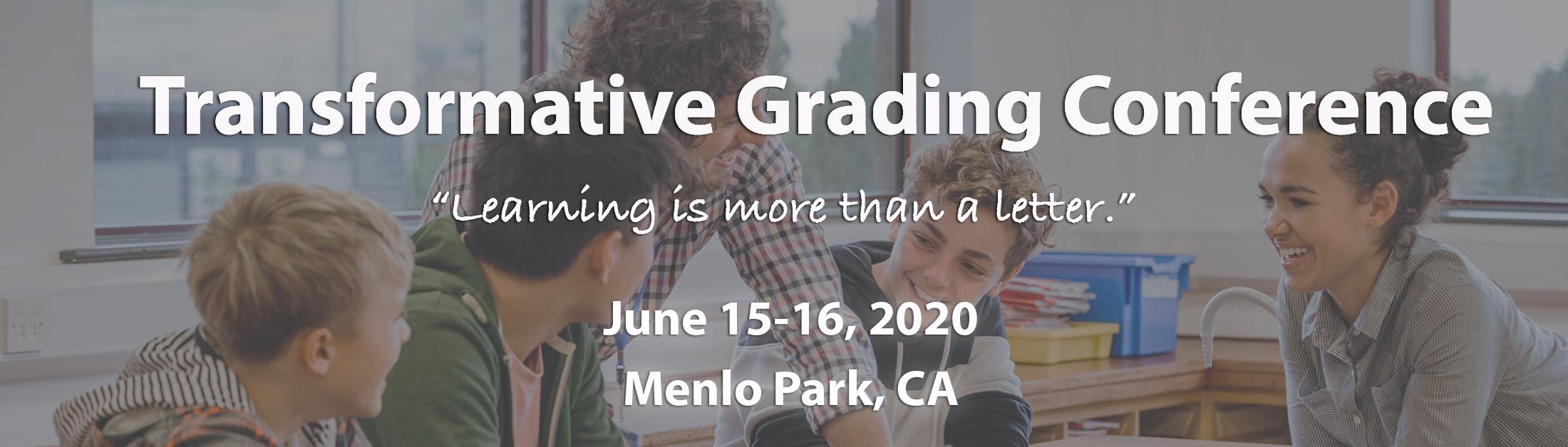 Transformative Grading Conference Banner